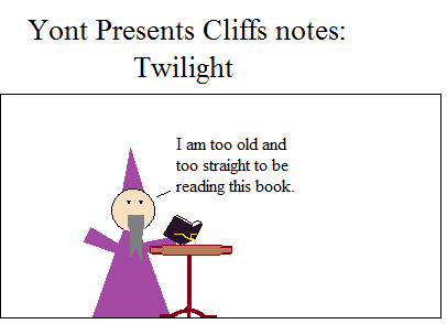 This is actually how most guys view Twilight.