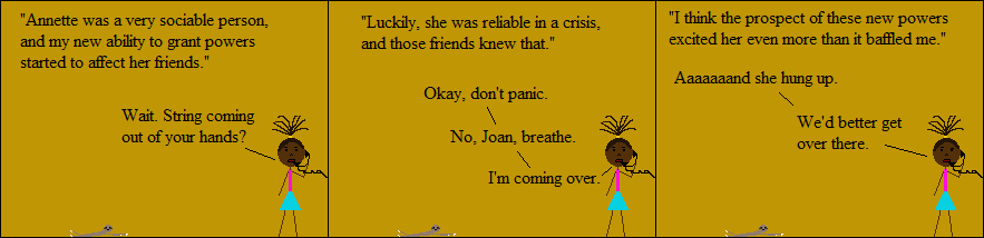 Joan was not her best self in middle school, but which of us is?