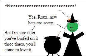Roux hates change.