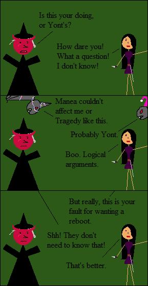 Manea finds logic tiresome.